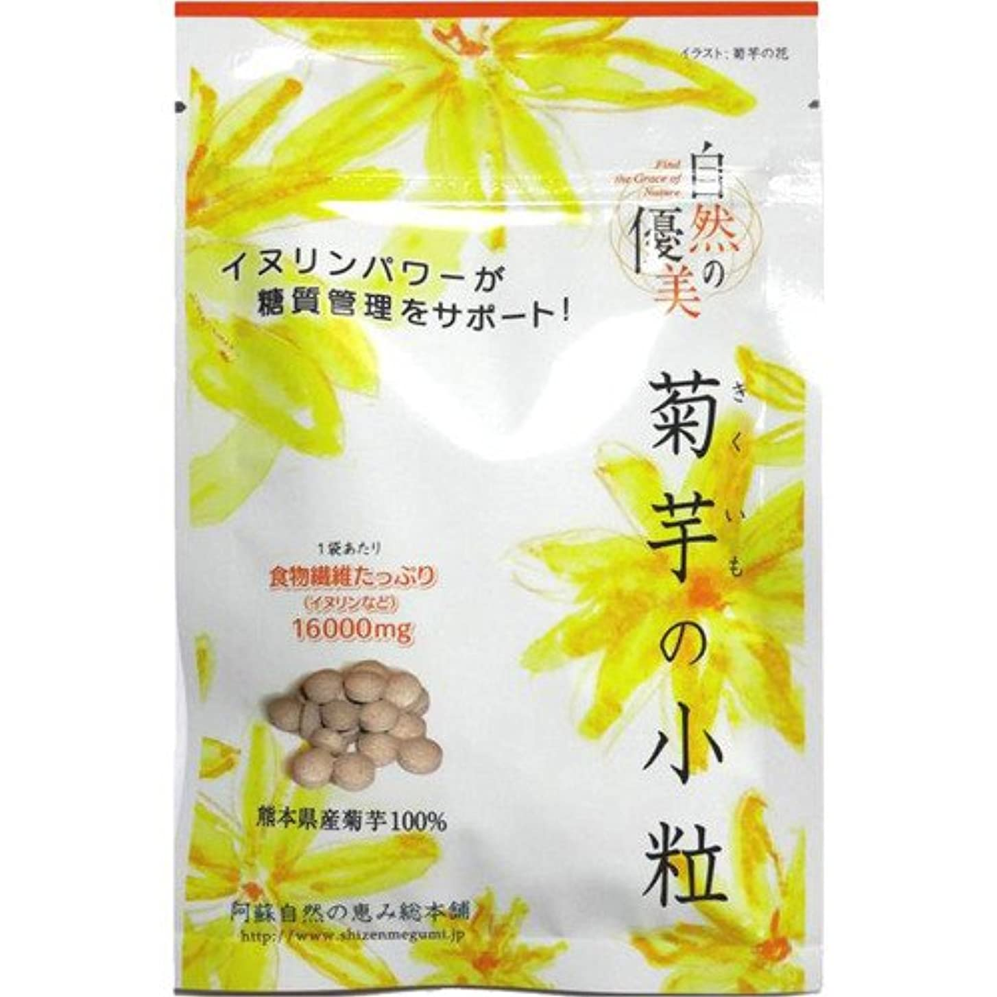 意気消沈した湿度漁師阿蘇自然の恵み総本舗 菊芋の小粒 100錠