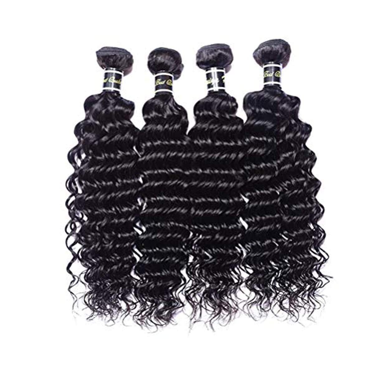 欺くイタリアのギャングスター髪織り8aブラジルバージンヘアディープウェーブバンドル人間の髪バンドルディープウェーブブラジルヘアバンドルディープウェーブ人間の髪