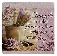Kitchen Towels - Friends are like flowers [並行輸入品]