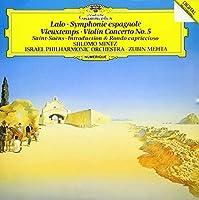 ラロ:スペイン交響曲 他
