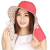 (リワード) REWARD 日焼け防止 帽子 UVカット 紫外線対策 ガーデニング リバーシブル SPF 50+ 母の日 プレゼント (ピンク)