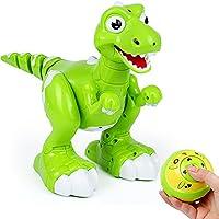 Aomeiqi 恐竜 おもちゃ 子供 知育玩具 インテリジェン リモコン恐竜ロボット手振り制御 多機能電動恐竜 歩く スプレー 前進後退 左右折 歌う 踊る 回るなど 男の子おもちゃ
