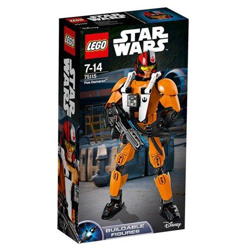 レゴ (LEGO) スター・ウォーズ ビルダブルフィギュア ポー・ダメロン 75115