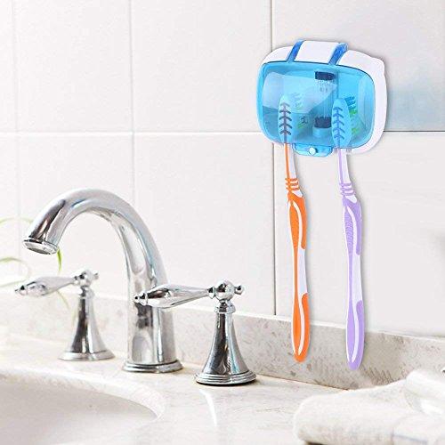 Yosoo 歯ブラシ除菌器 紫外線消毒ケース UV紫外線消毒...