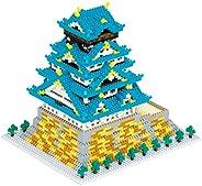 カワダ ナノブロック 大阪城 デラックスエディション NB-049