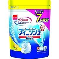 【まとめ買い】finish フィニッシュ 食洗機用洗剤 粉末 パウダー 詰替 レモン 900g ミューズ共同開発 (約200回分) ×12個