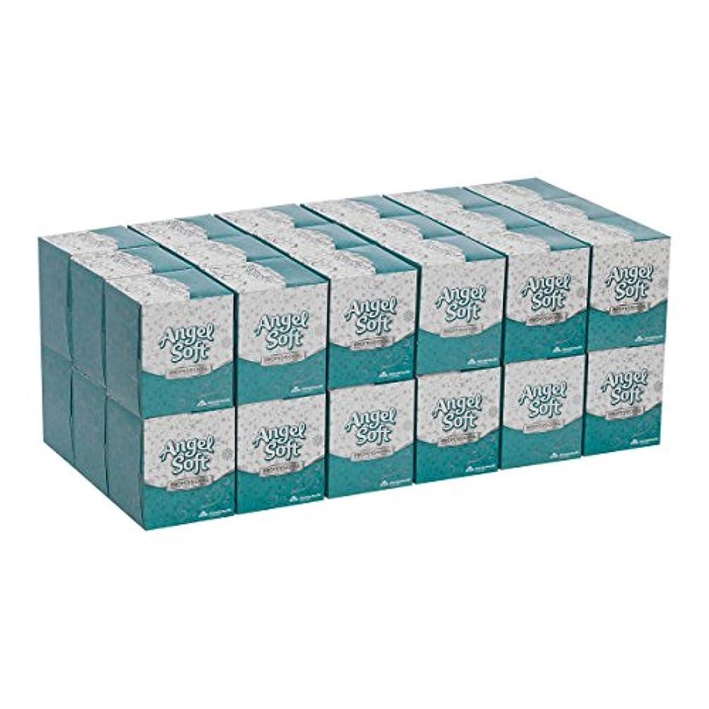 高い防腐剤周術期Georgia Pacific 46580CT Angel Soft ps Premium Facial Tissue in Cube Box- 96/Box- 36 Boxes/Carton