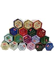 インドのお香HEM ロングスティックお香 六角香 ヘキサパック お得18点セット アジアン雑貨 チャンダンお香