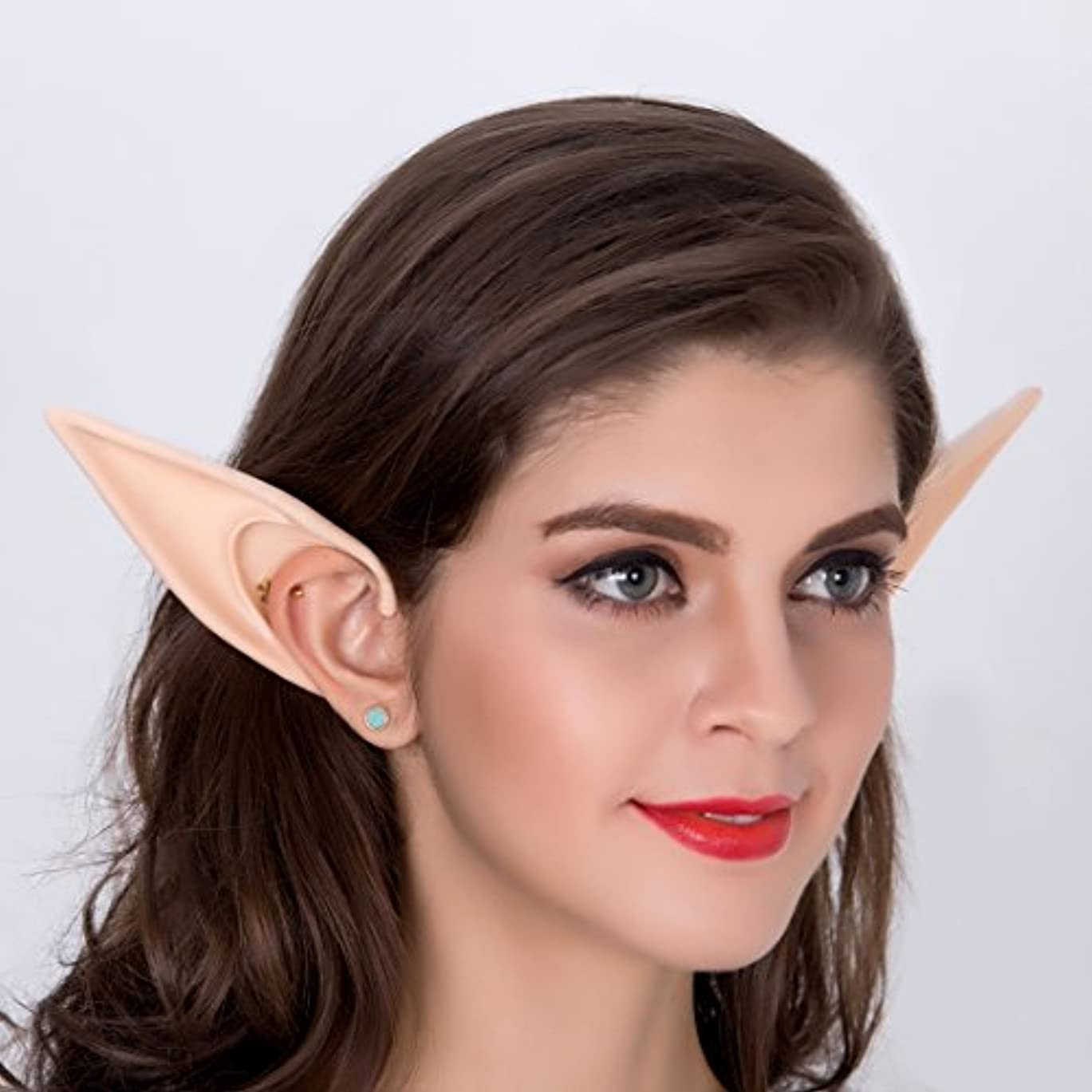 癒す旋回間違いなくYanpower エルフ耳 コスプレ 天使 精霊 魔女 妖怪 仮装 つけ耳 左右2個セット (#2)