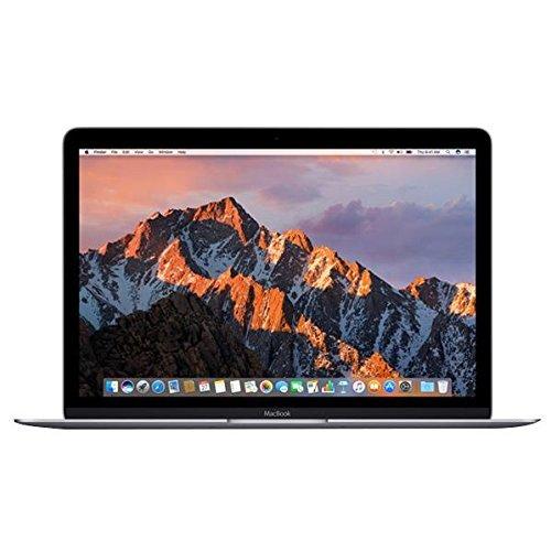アップル 12インチMacBook: 1.2GHzデュアルコアIntel Core m3、256GB - スペースグレイ MNYF2J/A