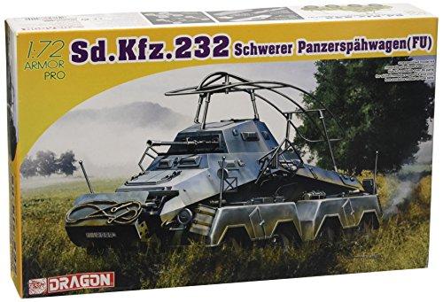1/72 ドイツ Sd.Kfz.232 (8Rad) 8輪重装甲中距離無線車