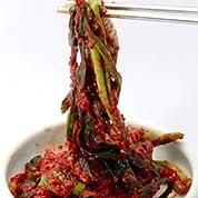 本場韓国の味 徳山物産 自家製 ニラキムチ 10kg(1kg袋×10個) [業務用]