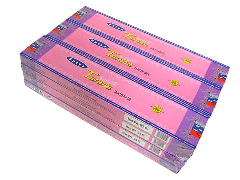評決はっきりしないハンマーSATYA(サチャ) タラーナ香 スティック TARANA 12箱セット