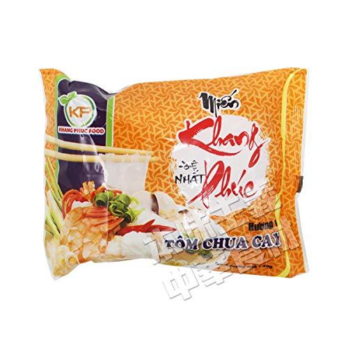 お湯を注いで3分待つだけ! KHANG PHUC FOODベトナムトムヤムクン即席春雨50g/1pc 単品 ベトナム タイ 大人気インストール麺 輸入食品 便利