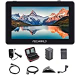 FEELWORLD F6 Plus 5.5 Inch 3D LUT Touch Screen IPS FHD1920x1080 Support 4K HDMI Field Monitor On DSLR Camera with Tilt Arm (w