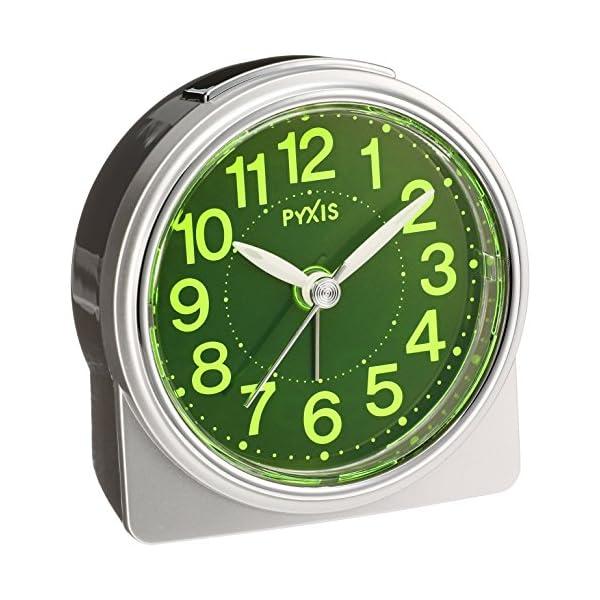 セイコー クロック 目覚まし時計 アナログ 集光...の商品画像