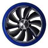 SODIAL(R) ターボファンインテーク燃料セーバーファン - ブルー