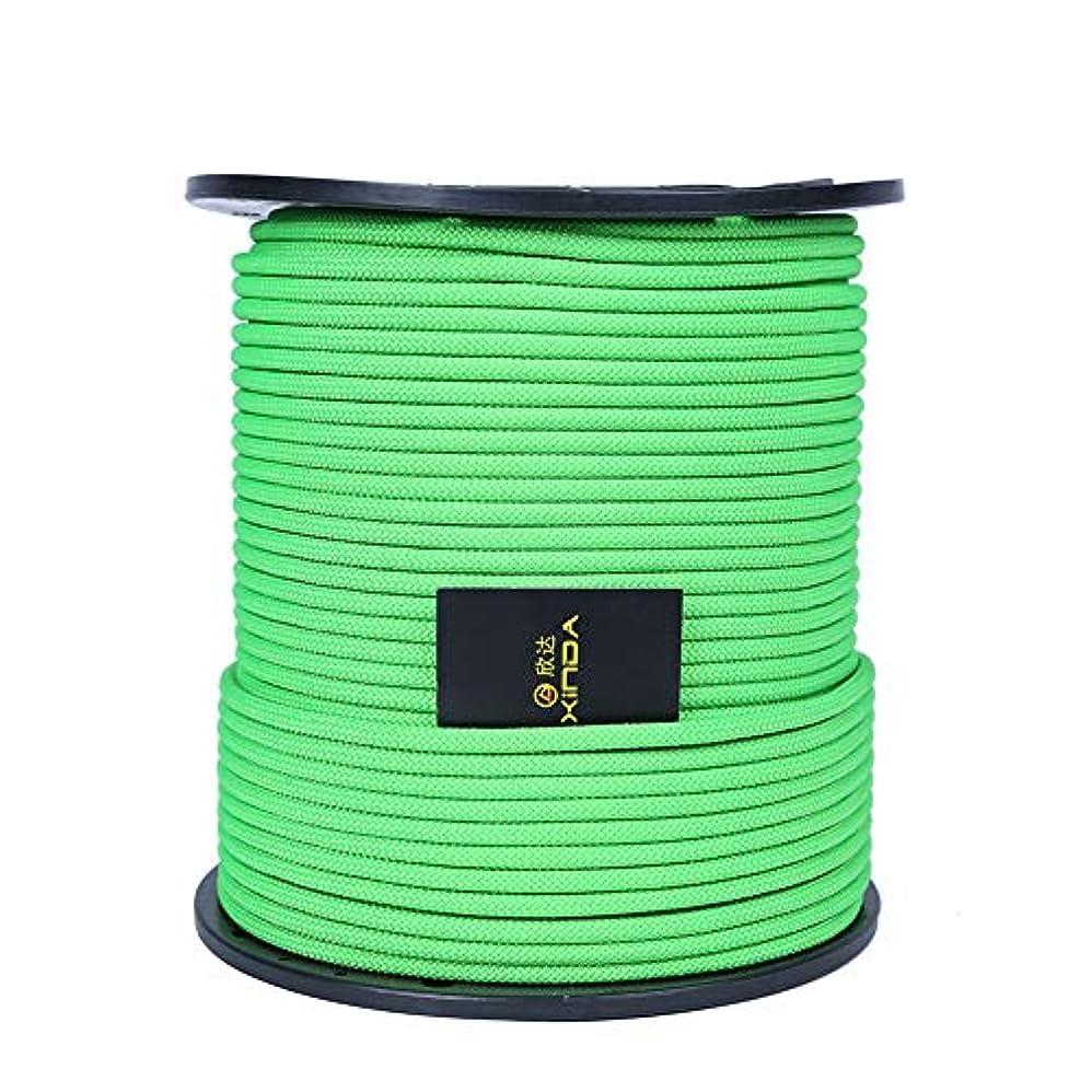 ロビーメンバー電信ACHICOO 安全ロープ 屋外ロック クライミングロープ 8mm クライミング機器 安全ロープ用 クライミングクロス救助