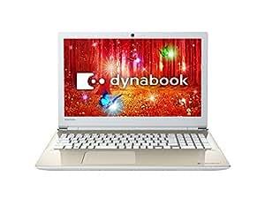 東芝 dynabook AZ25/CG 東芝Webオリジナルモデル (Windows 10 Home Anniversary Update/Officeなし/15.6型/Celeron3865U/サテンゴールド) PAZ25CG-SNA