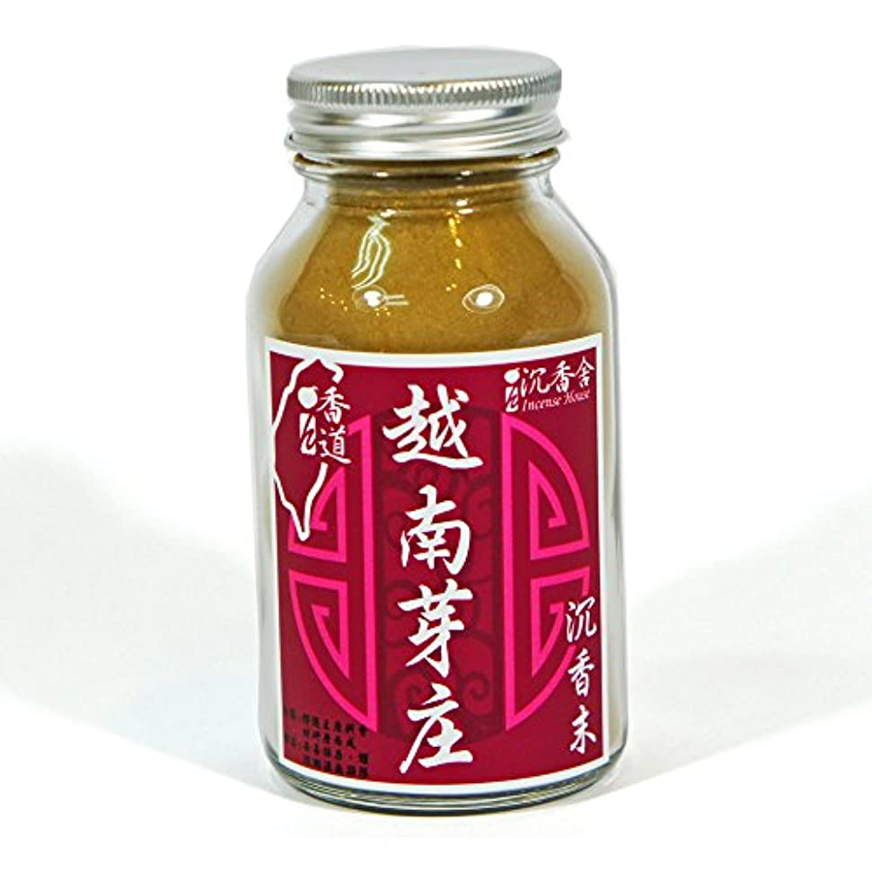 今ラメ計画台湾沉香舍 お香原料 高級品 ベトナム ニャチャン 越南芽庄沈香 粉末 50g