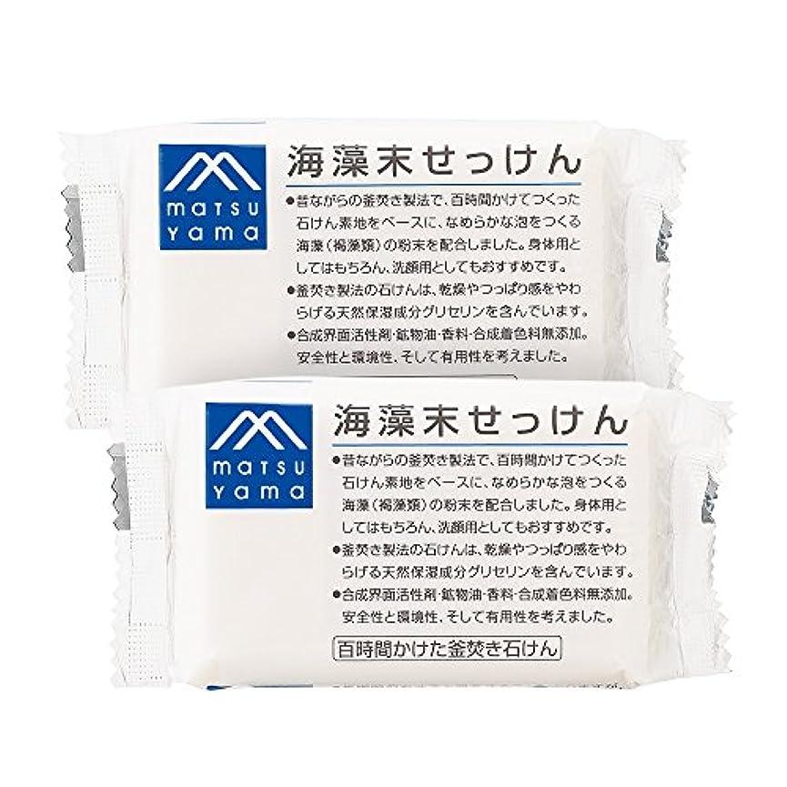 ようこそエラー吸収剤M-mark 海藻末せっけん2個セット