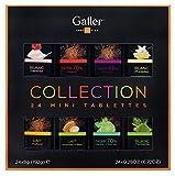 Galler(ガレー)チョコレート ベルギー王室御用達 ミニタブレットギフトボックス 24本入 … (1個)