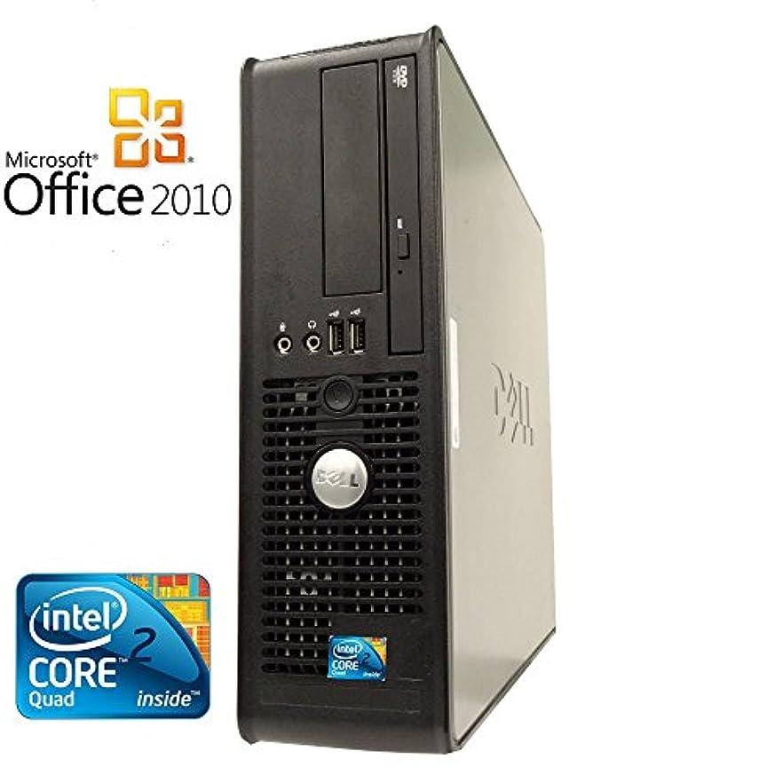 助けてのホスト意図する【Microsoft Office2010搭載】【Win 7搭載】DELL 780/新世代Core 2 Duo 2.93GHz/メモリ4GB/HDD160GB/DVDスーパーマルチ/中古デスクトップパソコン