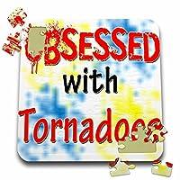 ブロンドDesigns Obsessed with–Obsessed with Tornadoes–10x 10インチパズル(P。_ 241826_ 2)