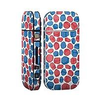 スマコレ IQOS 2.4 Plus 専用 シール 全面 ケース おしゃれ 全面ケース 保護 ステッカー デコ アクセサリー デザイン 赤 青 柄 012594