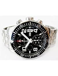 1291 スイス製 腕時計 クロノグラフ パイロットウォッチ 自動巻き VALJOUX 7750 1291PA [並行輸入品]