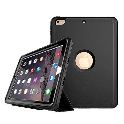 Checoo iPad mini mini2 mini3 ケース 全面保護 アイパッドカバー 耐衝撃 防滴 防塵 PC+TPU二重構造