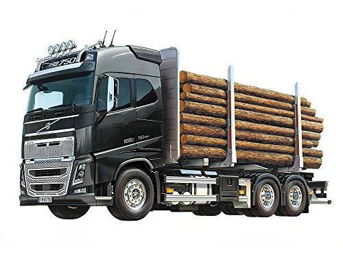 1/14 電動RCビッグトラックシリーズ No.60 ボルボFH16グローブトロッター750 6×4ティンバートラック 56360