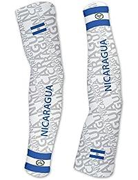 ニカラグアScudoPro Compression Arm Sleeves UV保護ユニセックス – Walking – サイクリング – Running – ゴルフ – 野球 – バスケットボール