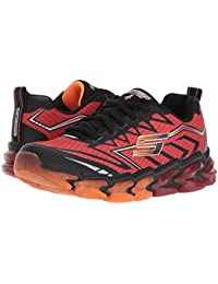 [SKECHERS(スケッチャーズ)] キッズスニーカー?靴 Skech - Air 4 97725L (Little Kid/Big Kid) Red/Black 13.5 Little Kid (19-19.5cm) M
