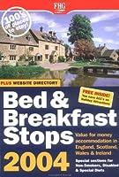 Bed & Breakfast Stops England 2004