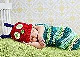 ヨーロッパ風 ベビー BABY 服 寝相 アート 着ぐるみ はらぺこ あおむし コスチューム 記念 撮影 写真 出産 お祝い