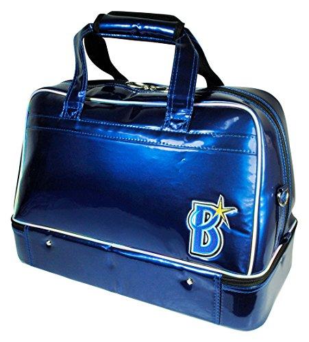 LEZAX(レザックス) ボストンバッグ 横浜DeNAベイスターズ 二段式ボストンバッグ  YBBB-7533 ブルー