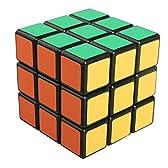 EGAO® Rubik's Cube ルービックキューブ 2~10階競技用パズルキューブ スピードキューブ 立体キューブ 黒素体 (3x3x3三階)