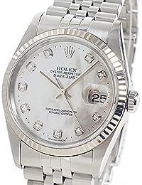 [ロレックス]ROLEX 腕時計 オイスターパーペチュアルデイトジャスト 16234NG 中古[1289620]ホワイトシェル