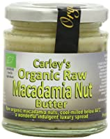 Carley's Org Raw Macadamianut Butter 170 g (order 6 for trade outer) / カーリーの組織生Macadamianutバター170グラム(商品アウターため6 )