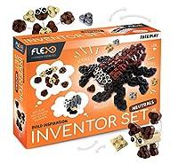 Flexo フリープレイインベンターセットニュートラル 3D レンガブロック