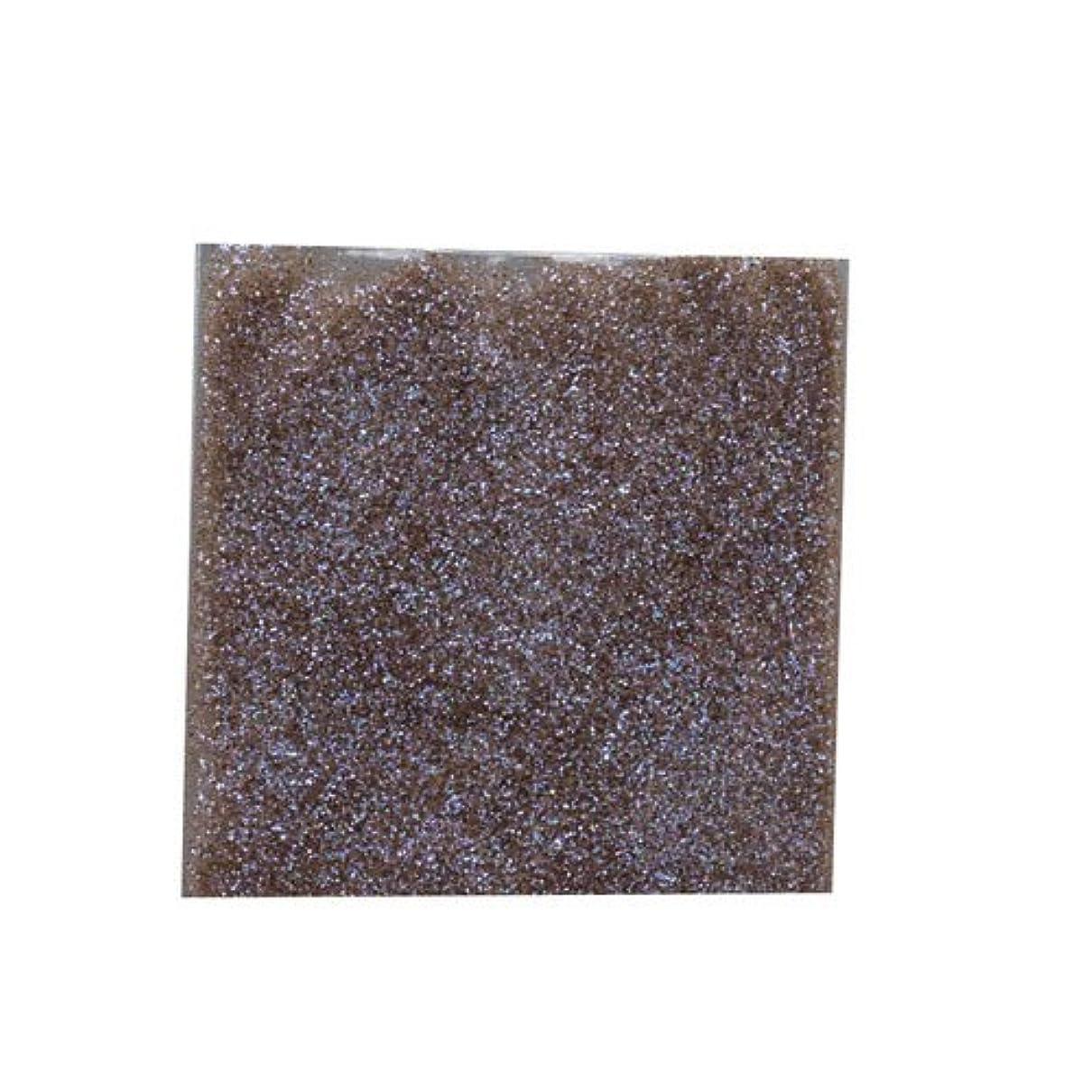 ドラフト独特のベアリングサークルピカエース ネイル用パウダー ラメカラーオーロラB 耐溶剤 S #539 ブラウン 0.7g