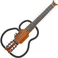 ARIA アリア クラシック シンソニード (サイレント) トラベルギター マホガニーナチュラル AS-101C MH バッグ、ヘッドフォン付き