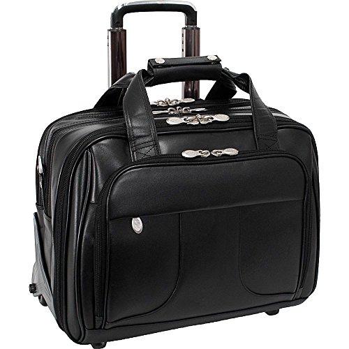 (マックレーンユーエスエー) McKlein USA メンズ バッグ キャリーバッグ Chicago Leather Wheeled 15.6' Laptop Case 並行輸入品