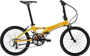 DAHON(ダホン) Visc EVO 20インチ(451) アルミフレーム 2x10段変速 マンゴーオレンジ 折りたたみ自転車 2018年モデル DHN18VEV-MOG マンゴーオレンジ