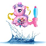 Formemory 水鉄砲 ウォーターガン バックパック式 ユニコーン 水ピストル 子供 おもちゃ 大容量タンク型 水遊び 夏祭り飛距離 高性能