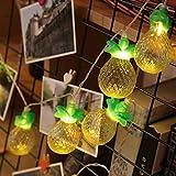highpotパイナップル型寝室文字列ライト10LEDフェアリーライトバッテリクリスマスウェディングパーティー誕生日デコレーション Highpot11