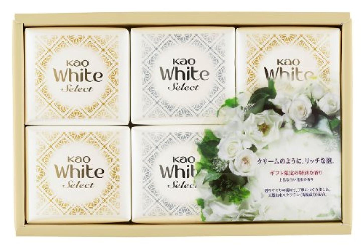 側溝消える懐疑的花王ホワイト セレクト 上品な白い花束の香り 固形せっけん 6コ (K?WS-10)