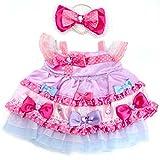 うさももドール 着せ替え人形 服 ラッピングリボンドレス