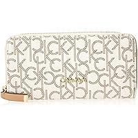 Calvin Klein MoNogram Continental Zip Wallet